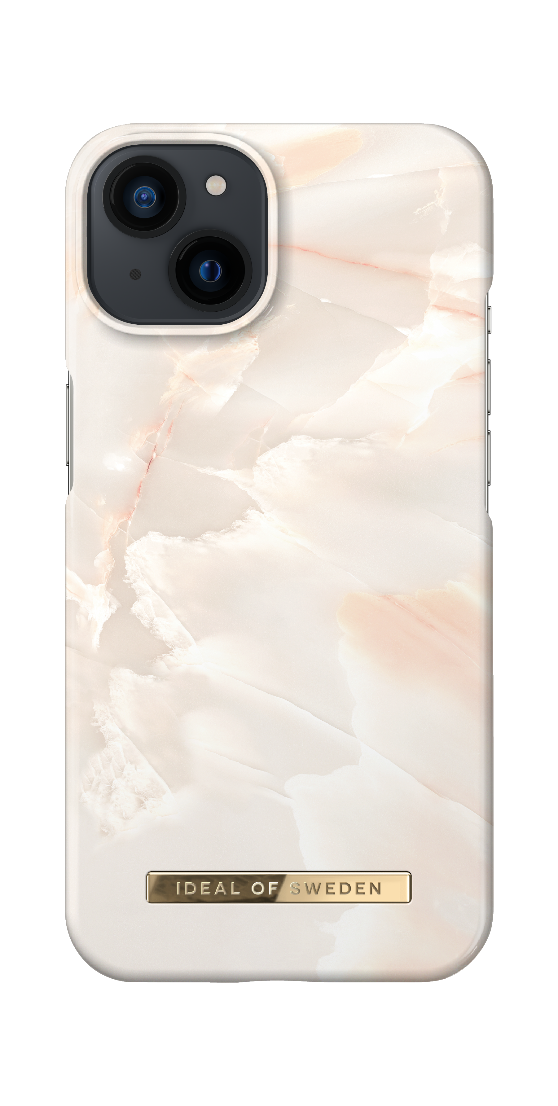 Fashion Case iPhone 13 Rose Pearl Marble