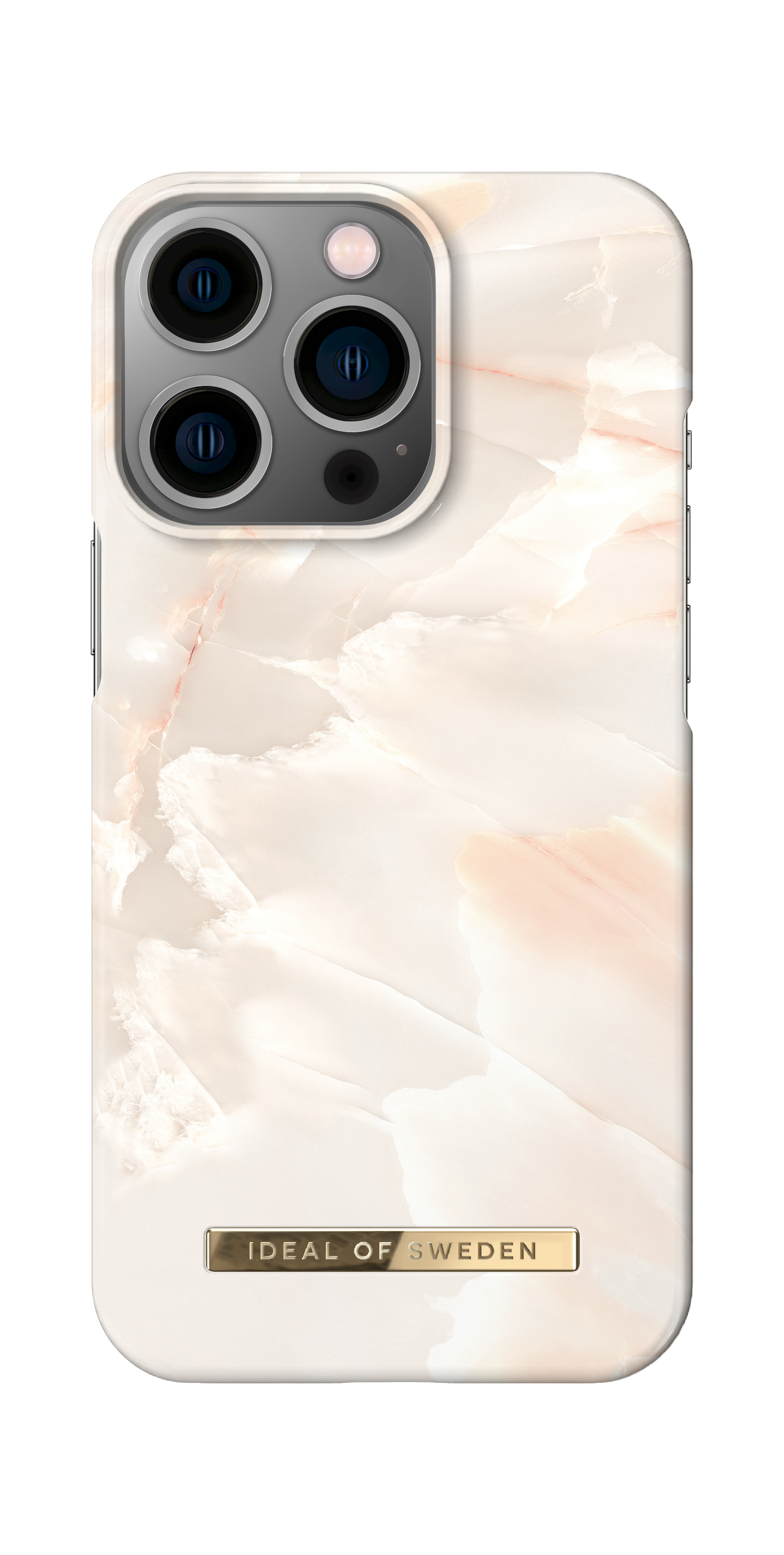 Fashion Case iPhone 13 Pro Rose Pearl Marble
