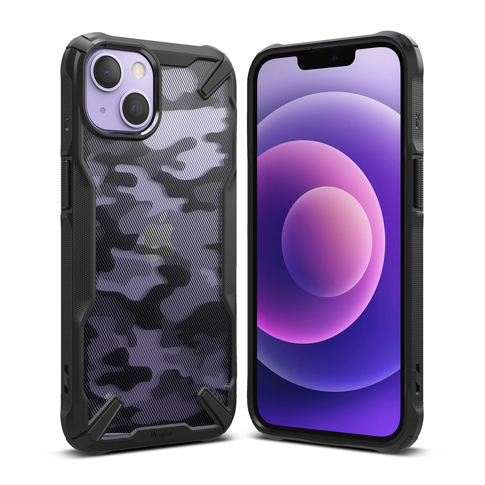 Fusion X Design Case iPhone 13 Mini Camo Black