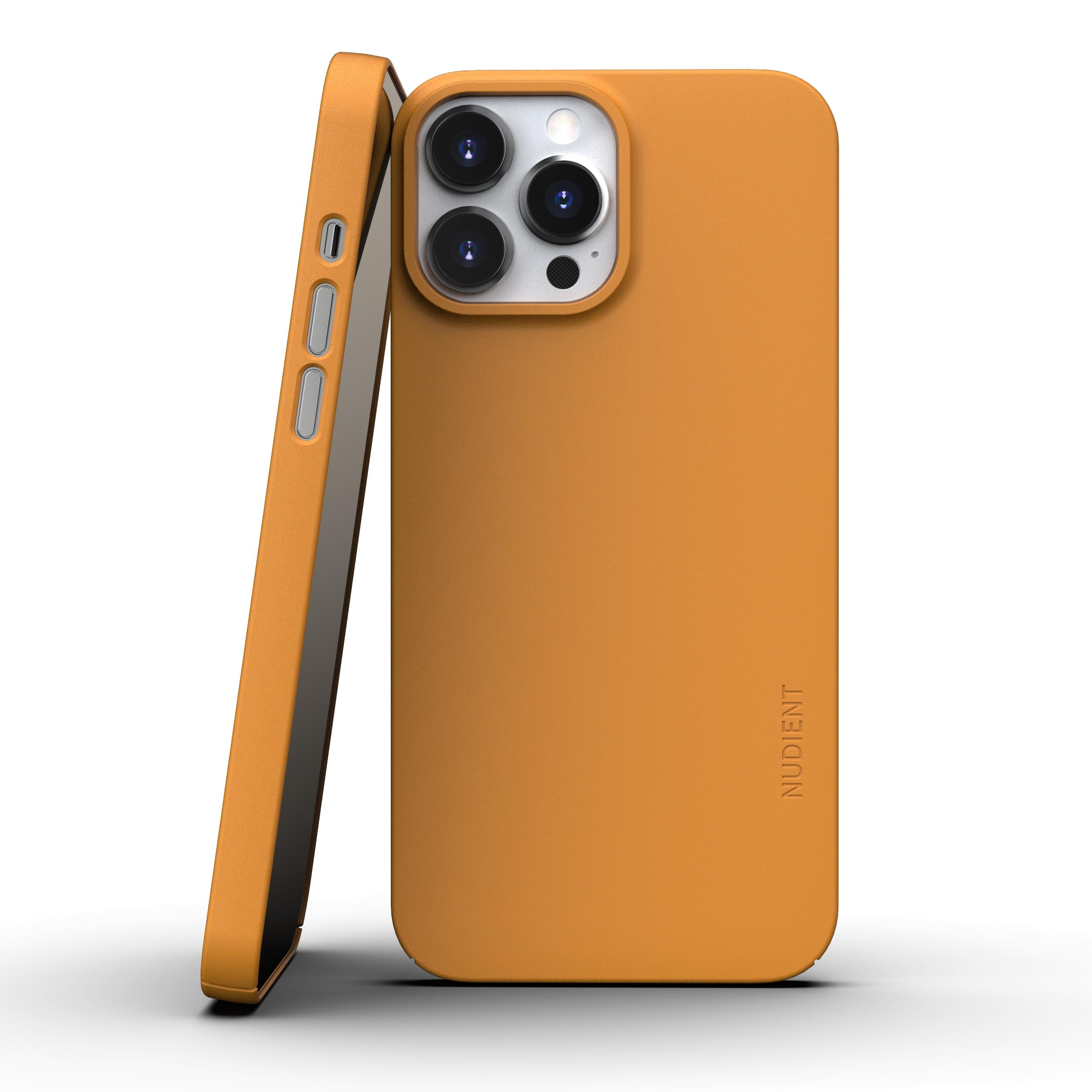 Thin Case V3 iPhone 13 Pro Max Saffron Yellow
