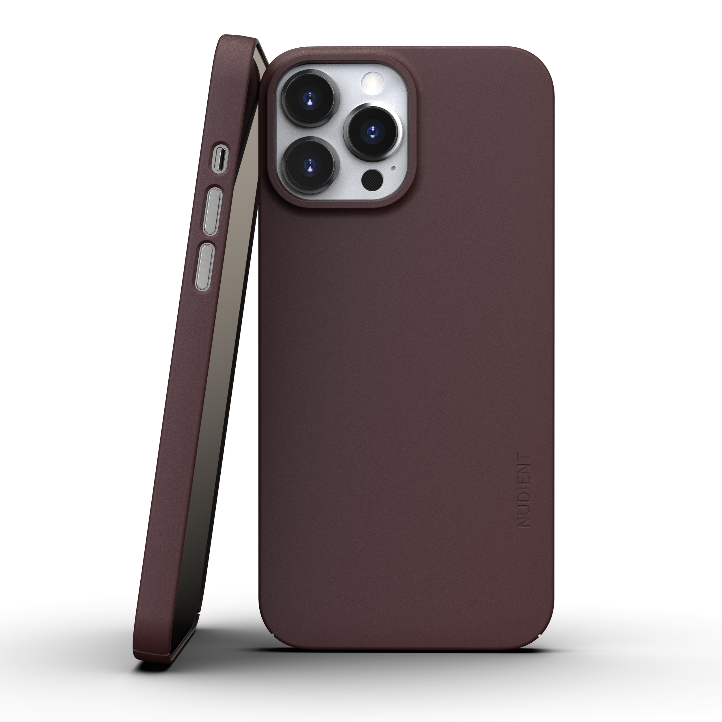Thin Case V3 iPhone 13 Pro Max Sangria Red