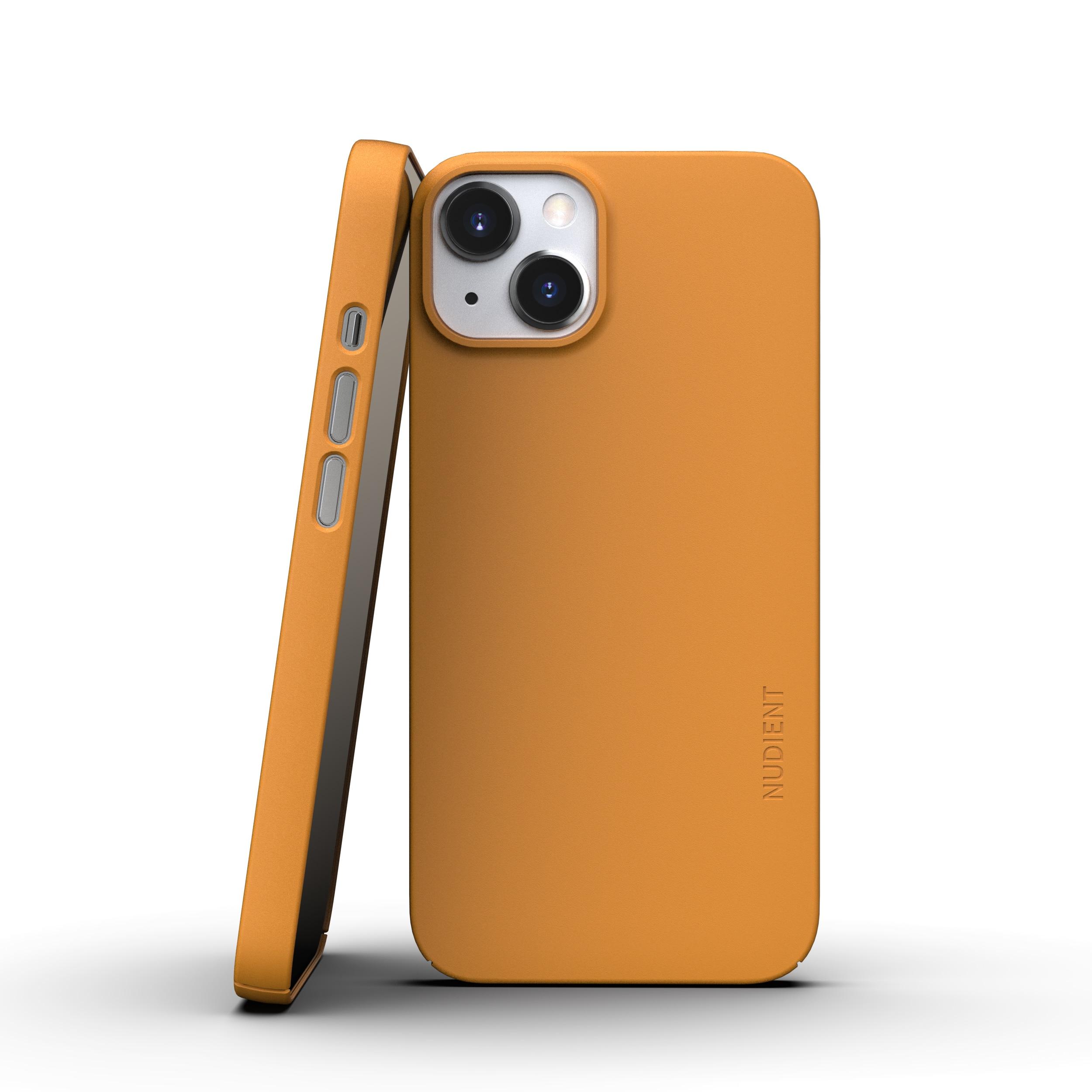 Thin Case V3 iPhone 13 Saffron Yellow