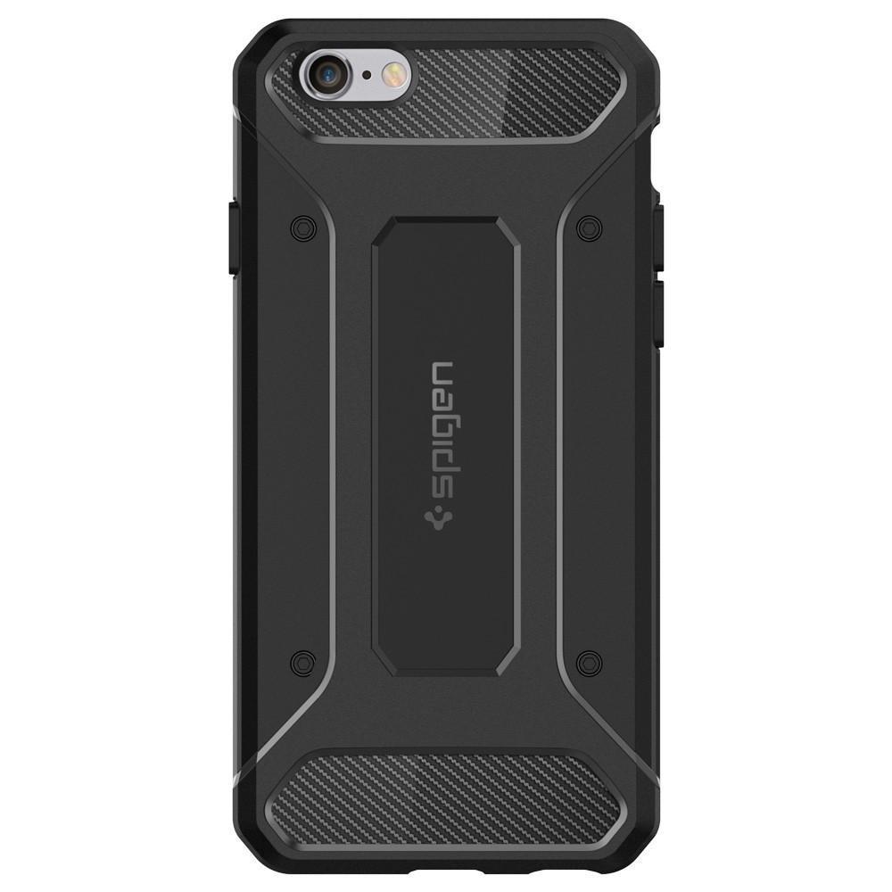 iPhone 6/6S Rugged Armor Case svart