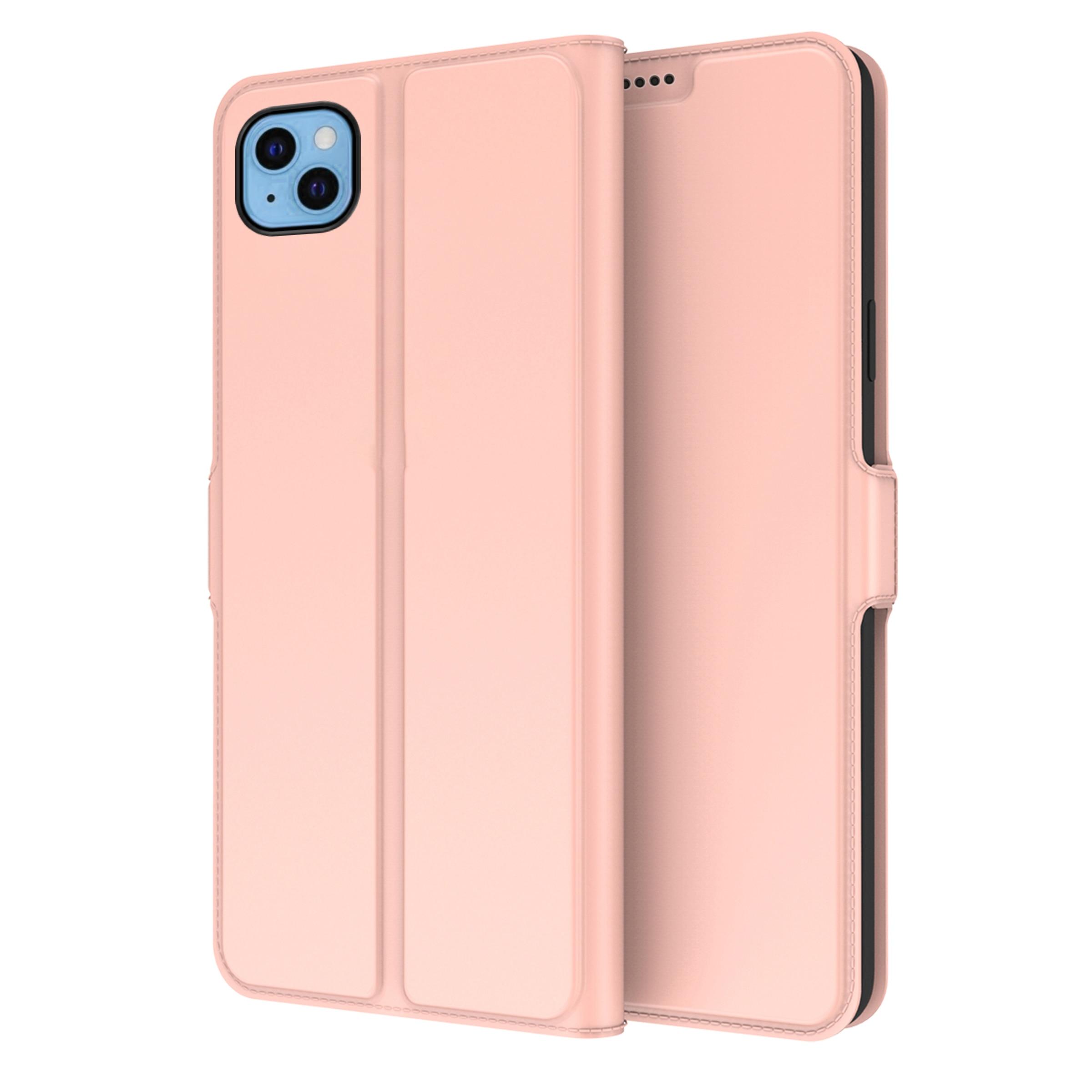 Slim Card Wallet iPhone 13 rosegull