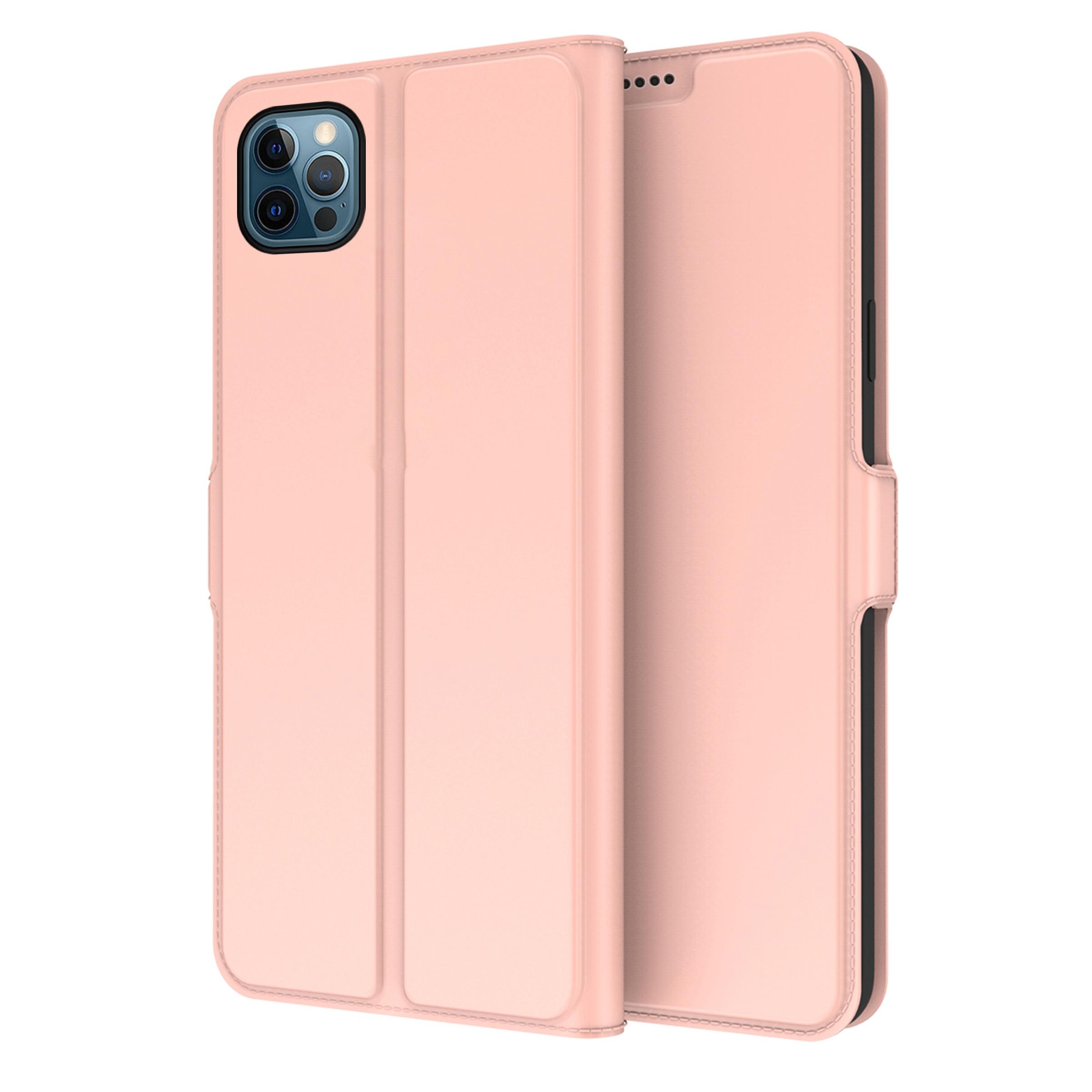 Slim Card Wallet iPhone 13 Pro Max rosegull