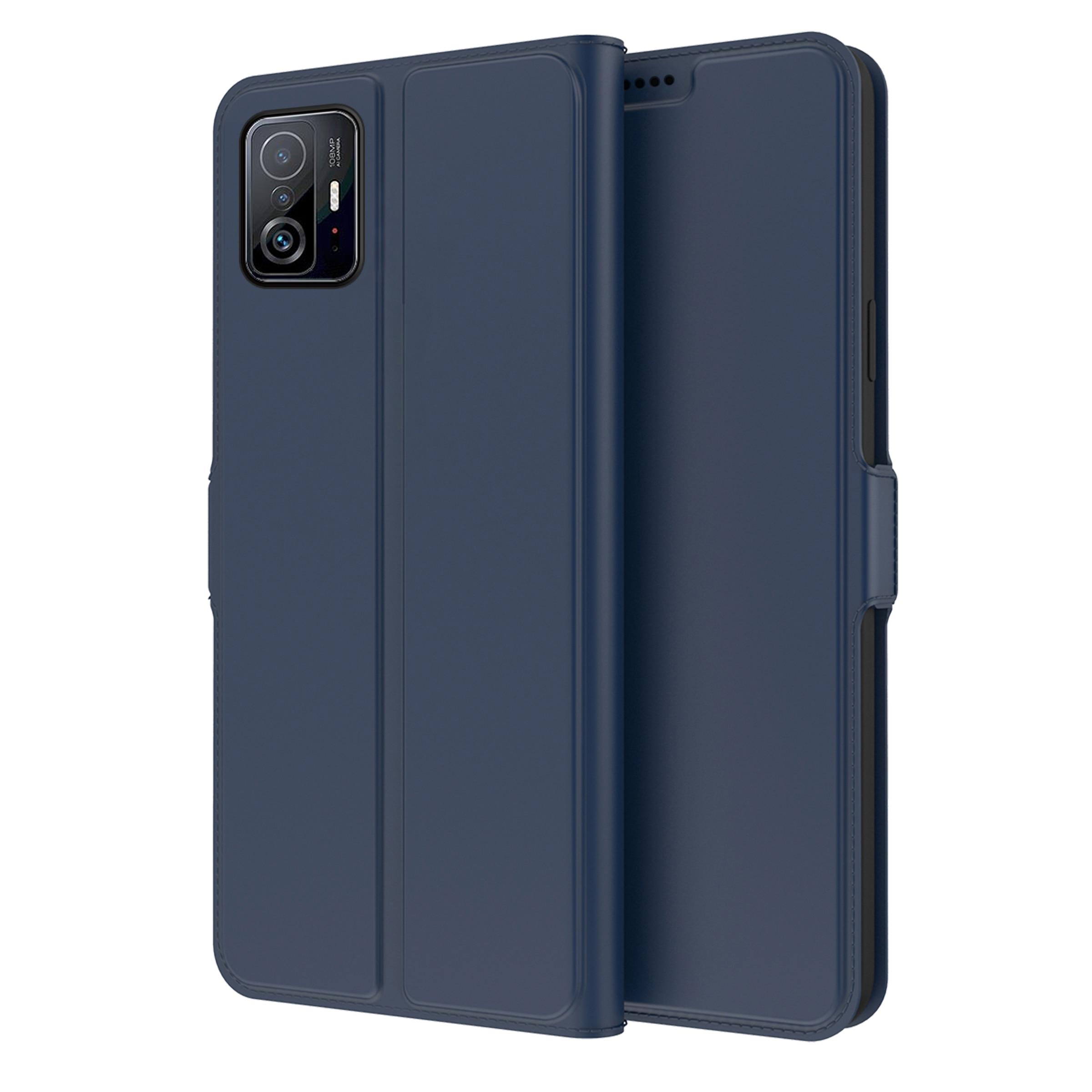 Slim Card Wallet Xiaomi 11T/11T Pro blå