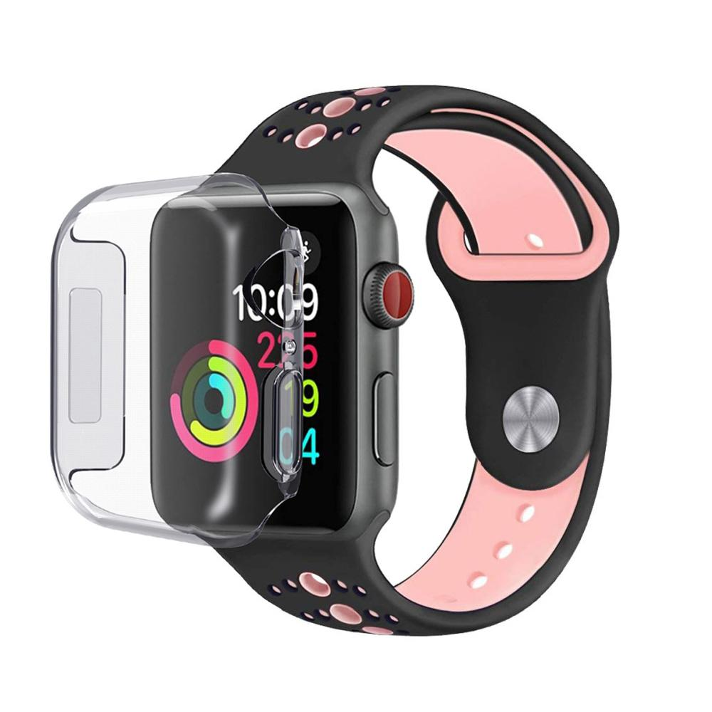 Full Protection Case Apple Watch 44mm Clear