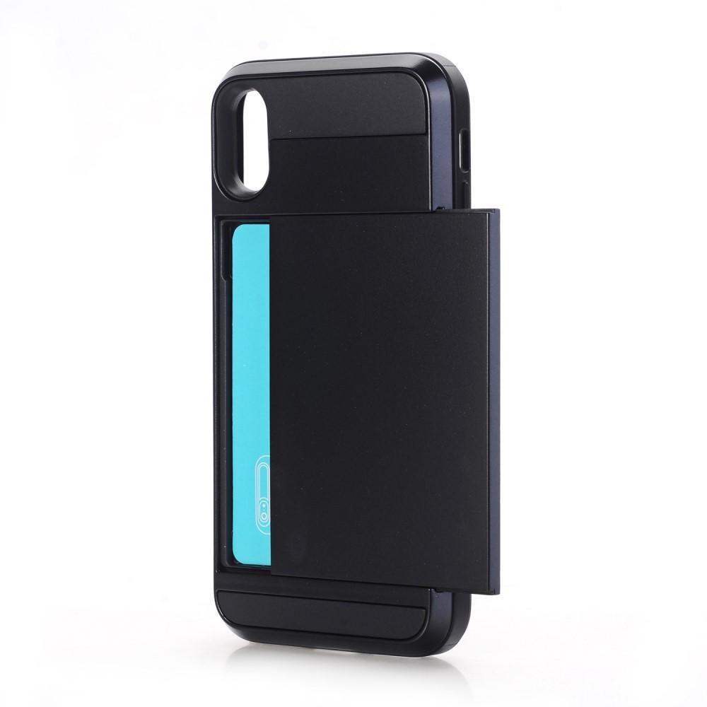 Deksel Kortholder iPhone X/XS svart
