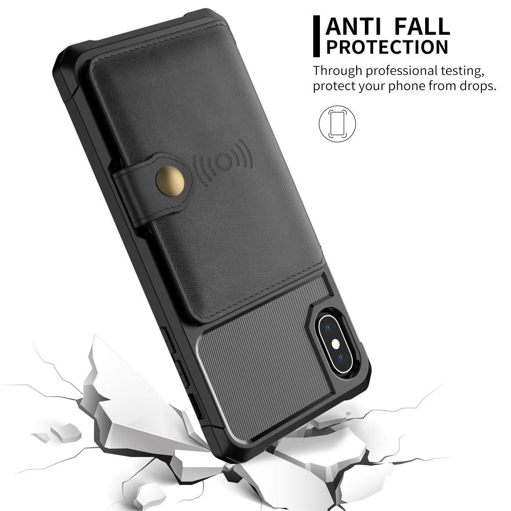 Tough Multi-slot Case iPhone X/XS svart