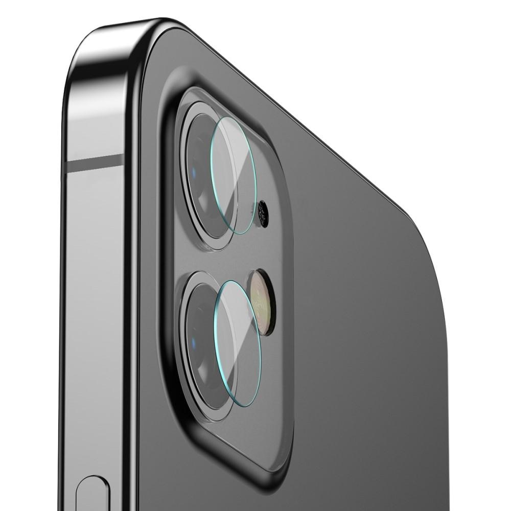 0.25mm Herdet Glass Linsebeskyttelse iPhone 12/12 Mini (2-pack)