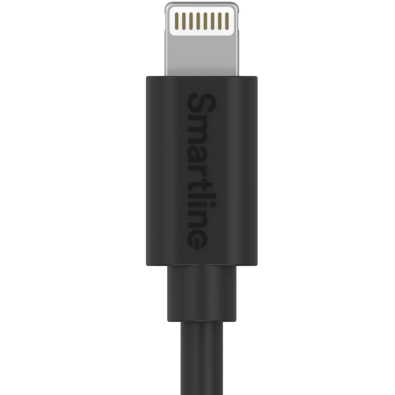 USB Cable Lightning 3m svart