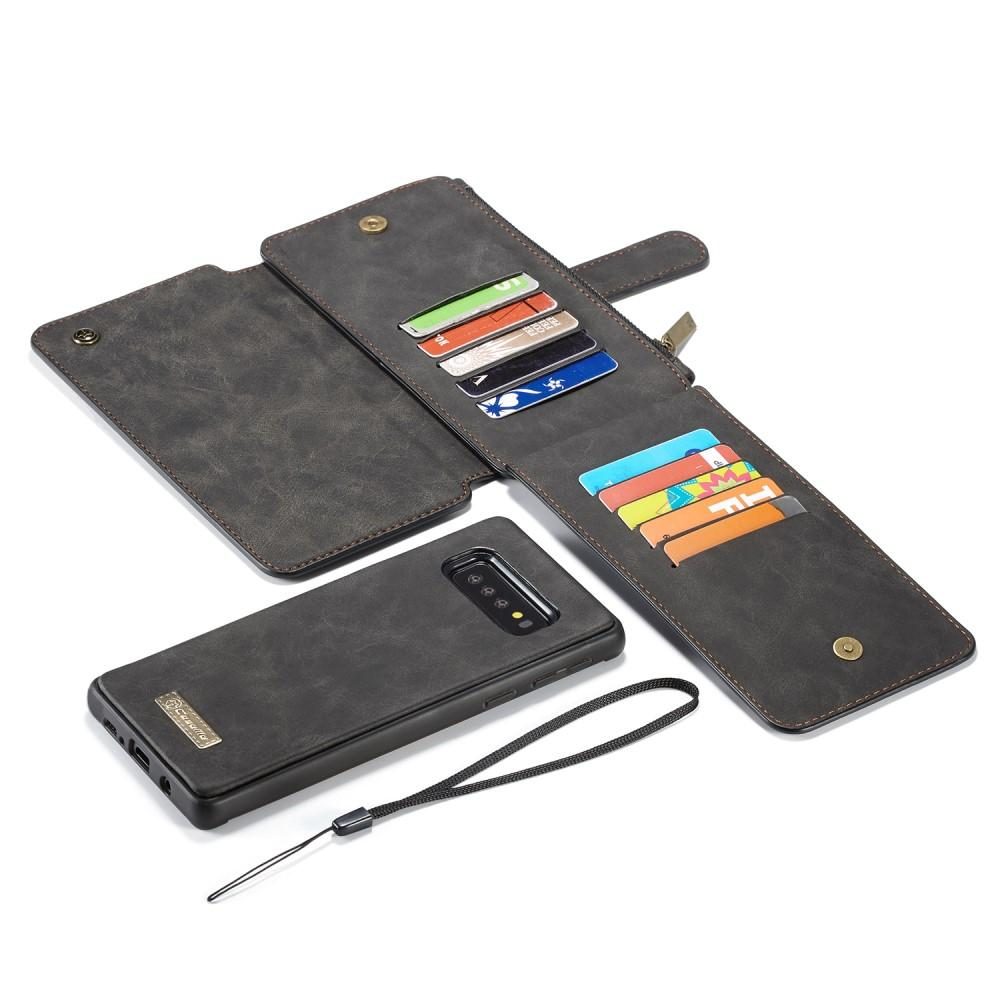 Multi-slot Flipdeksel Galaxy S10 Plus grå