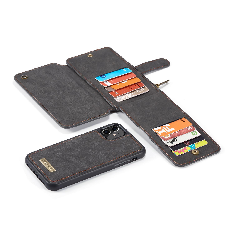 Multi-slot Flipdeksel iPhone 11 grå