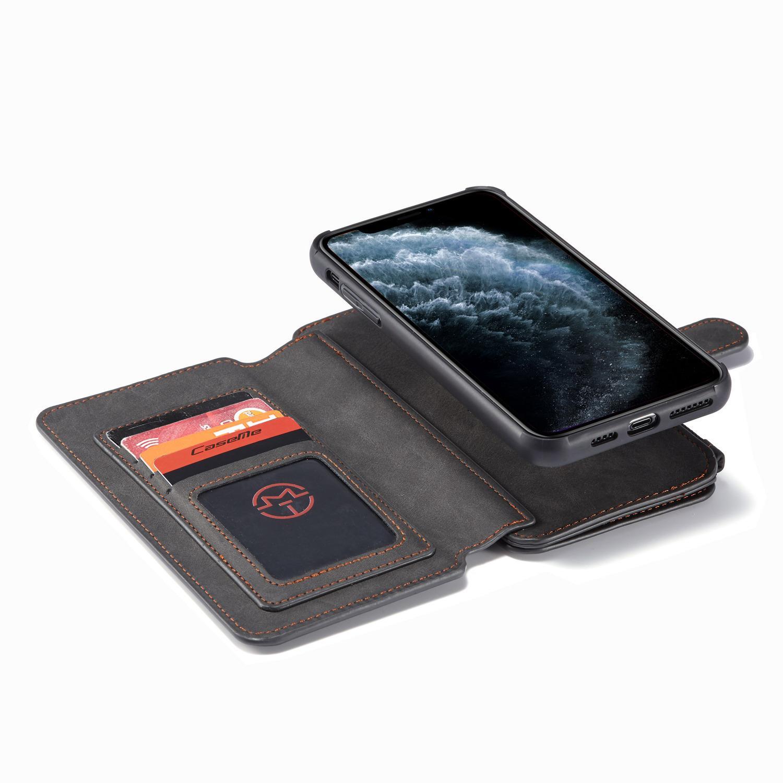 Multi-slot Flipdeksel iPhone 11 Pro Max grå