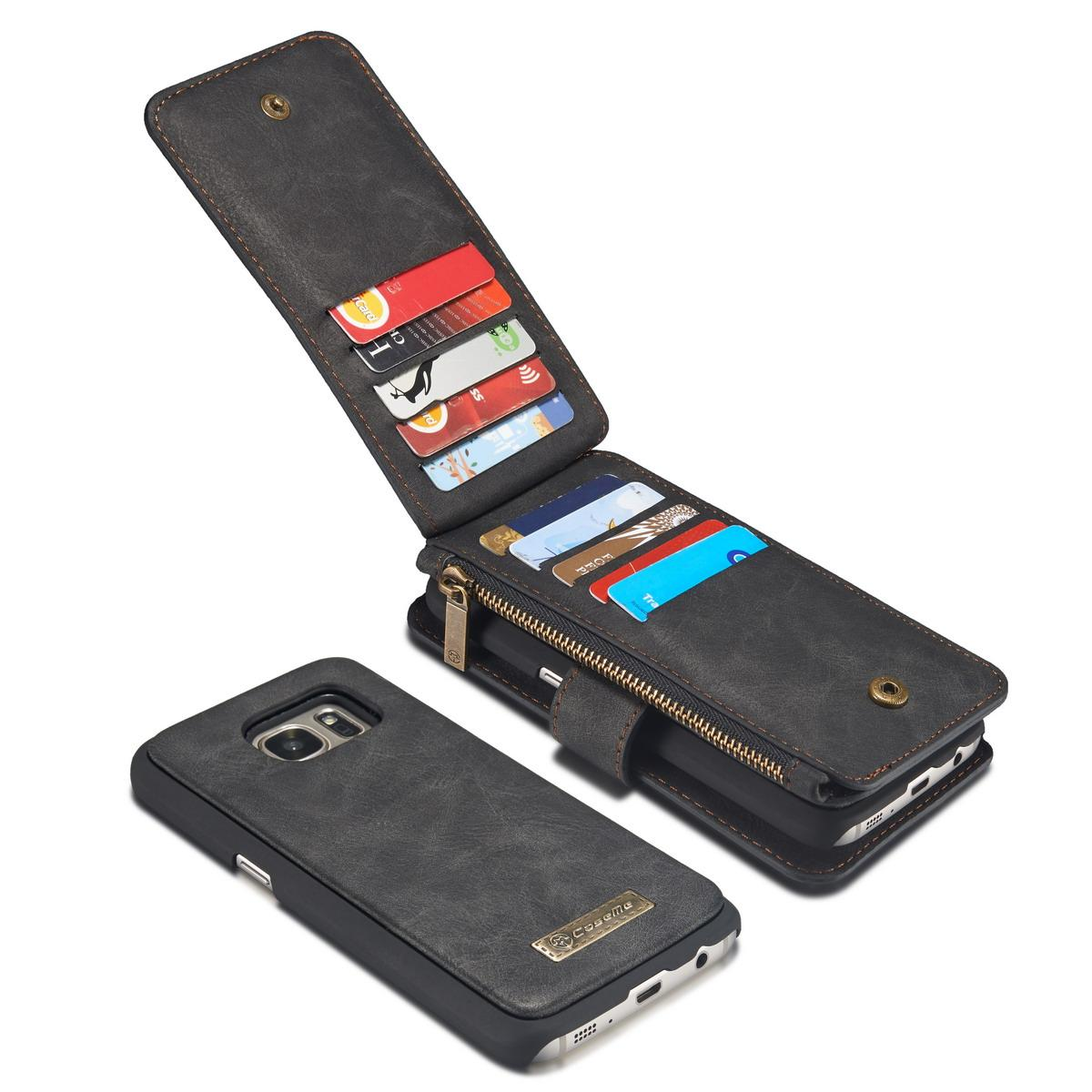 Multi-slot Flipdeksel Samsung Galaxy S7 grå