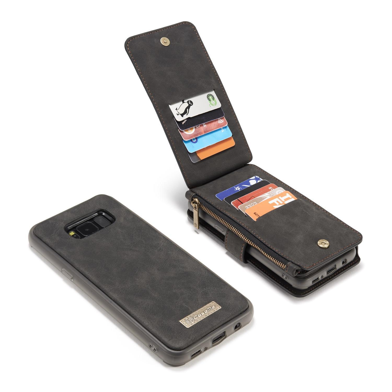 Multi-slot Flipdeksel Samsung Galaxy S8 grå