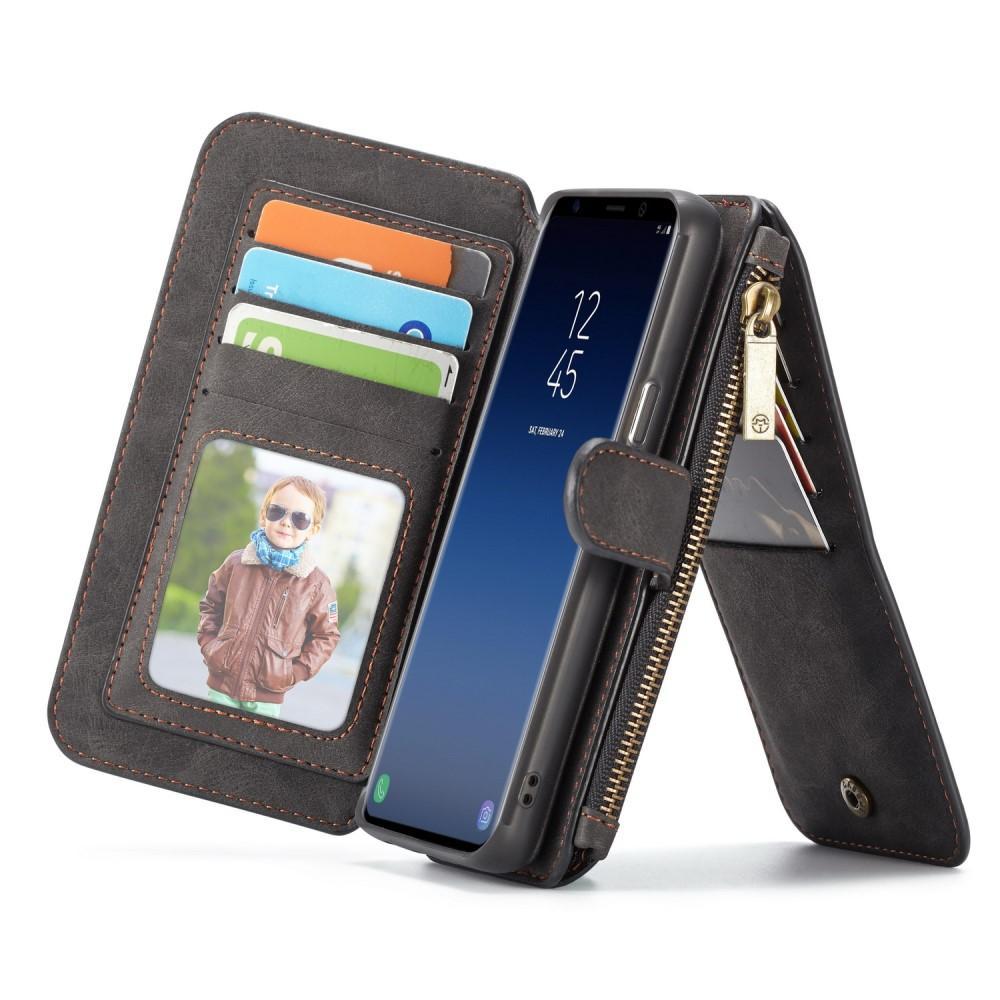 Multi-slot Flipdeksel Samsung Galaxy S9 grå