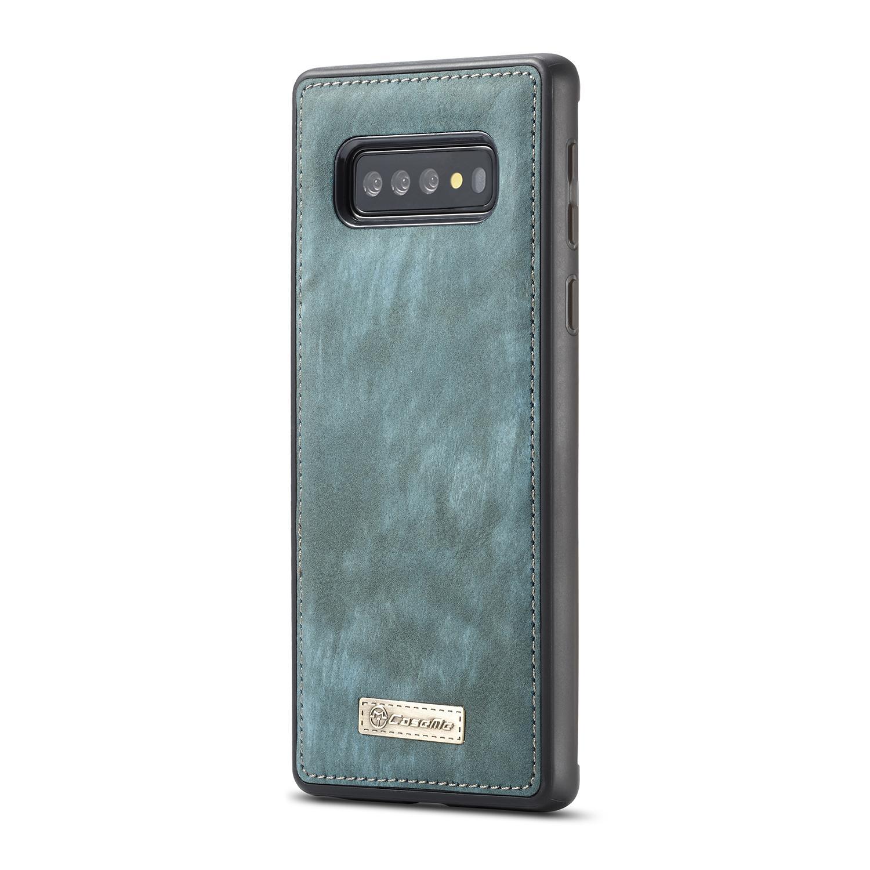 Multi-slot Lommeboksetui Galaxy S10 Plus blå
