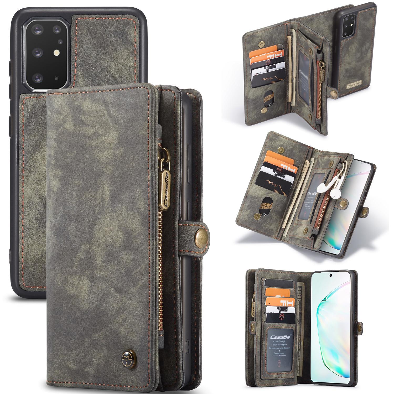 Multi-slot Lommeboksetui Galaxy S20 Plus grå