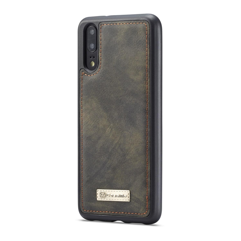 Multi-slot Lommeboksetui Huawei P20 Pro grå