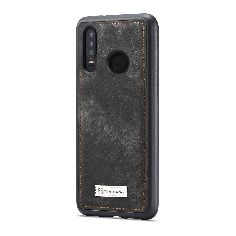 Multi-slot Lommeboksetui Huawei P30 Lite grå