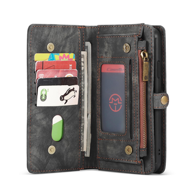 Multi-slot Lommeboksetui iPhone 11 Pro grå