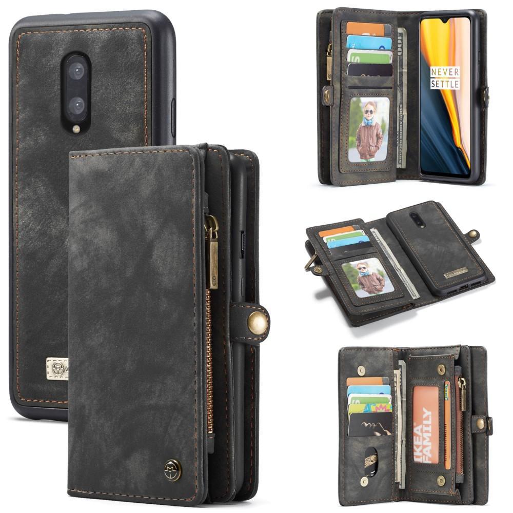 Multi-slot Lommeboksetui OnePlus 7 grå