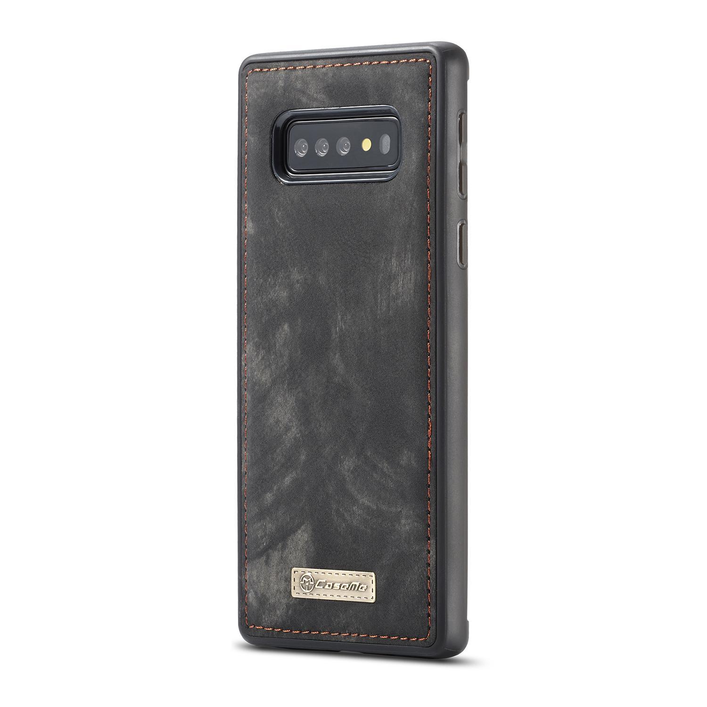 Multi-slot Lommeboksetui Samsung Galaxy S10 grå