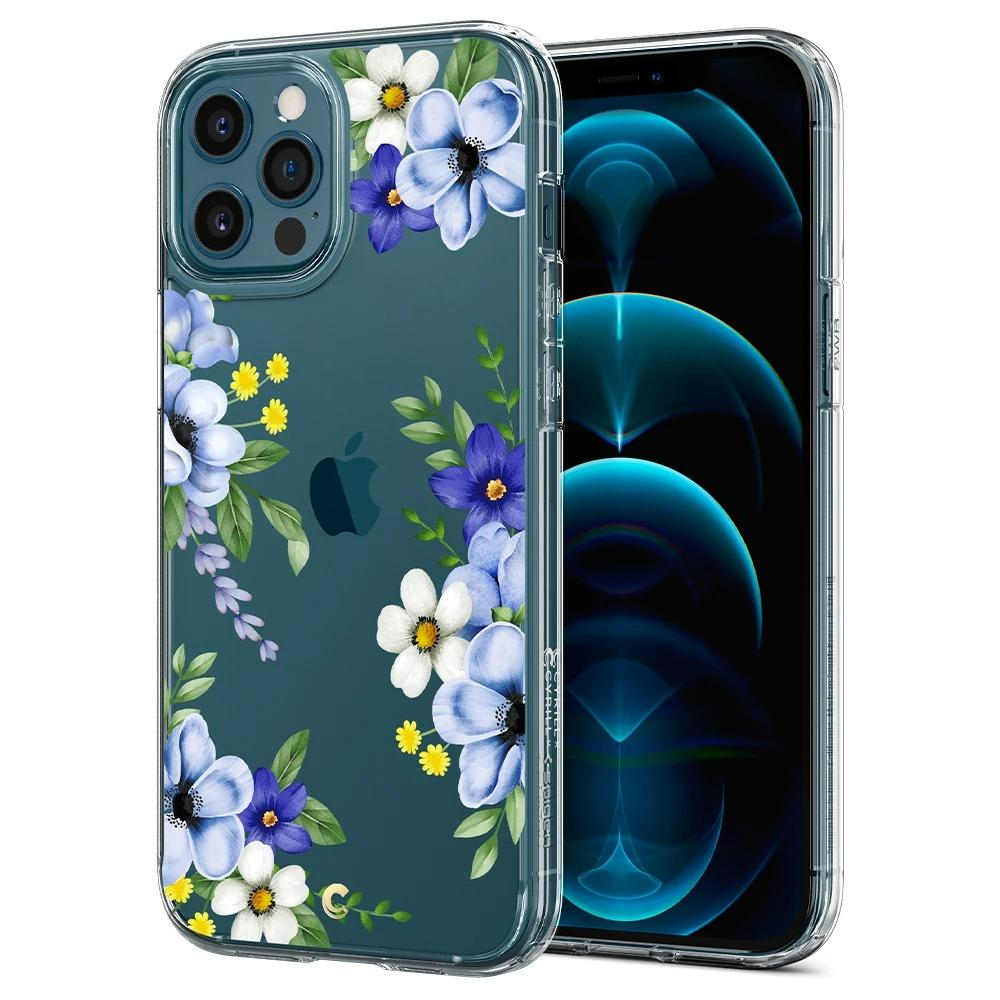 iPhone 12 Pro Max Case Cecile Midnight Bloom