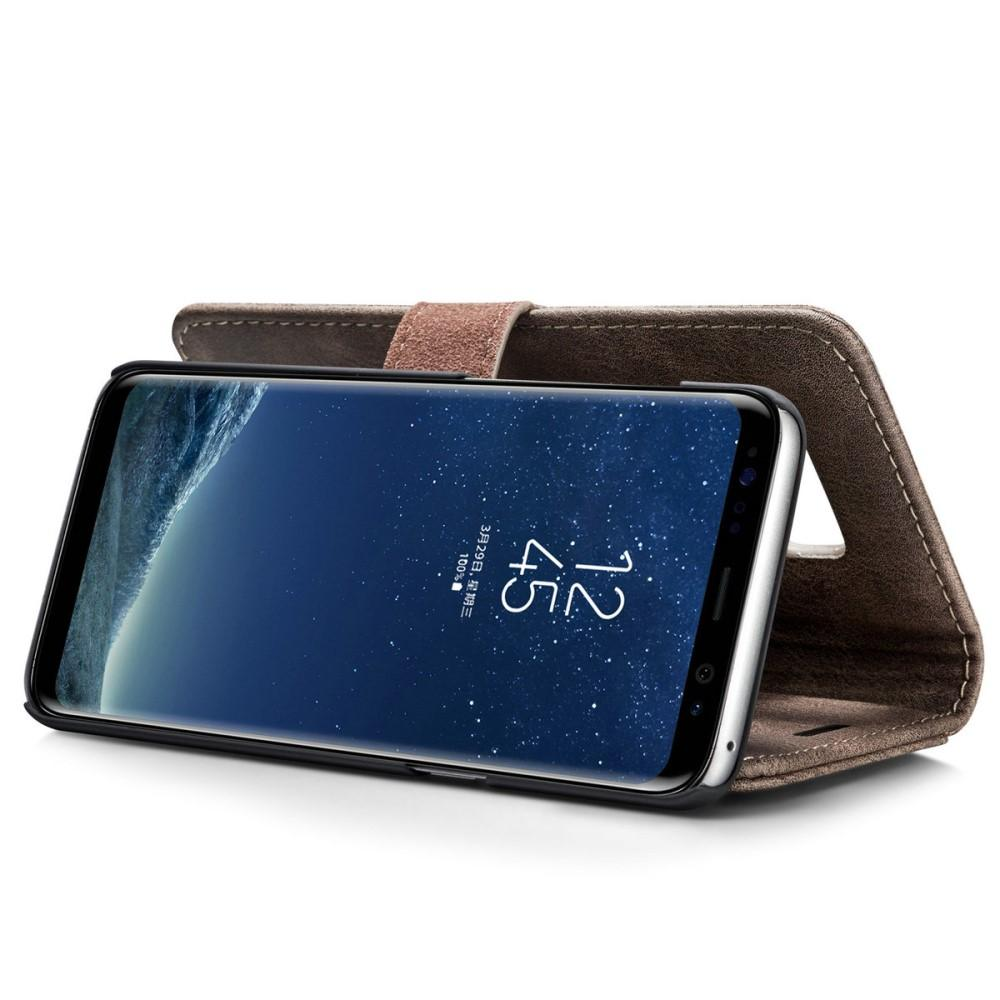 Magnet Wallet Galaxy S8 Brown