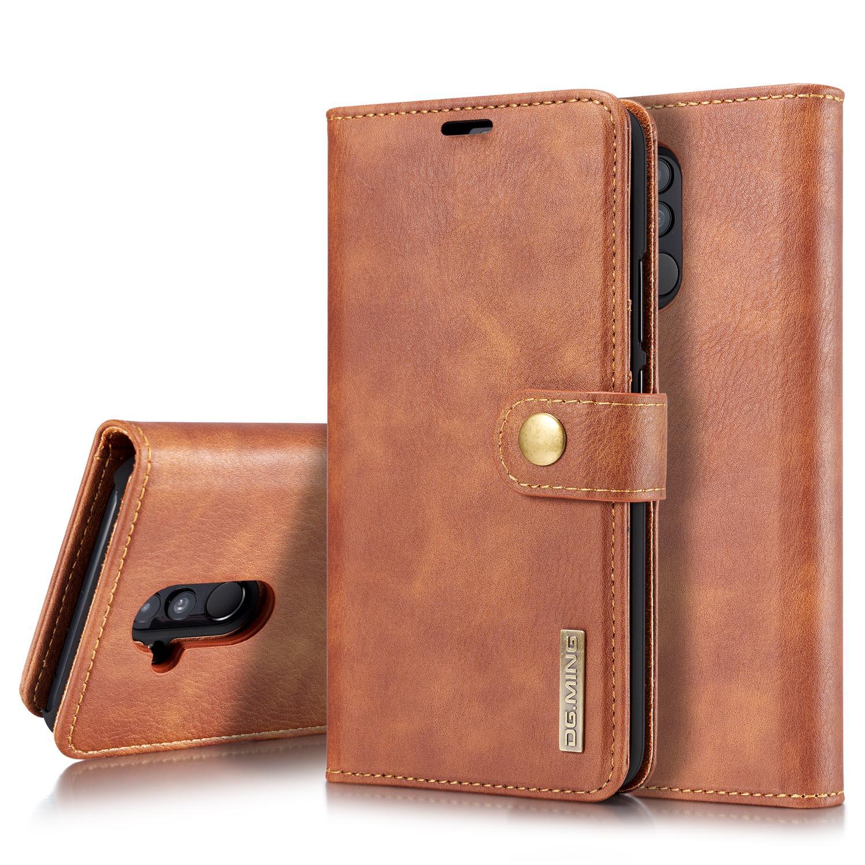 Magnet Wallet Huawei Mate 20 Lite Cognac