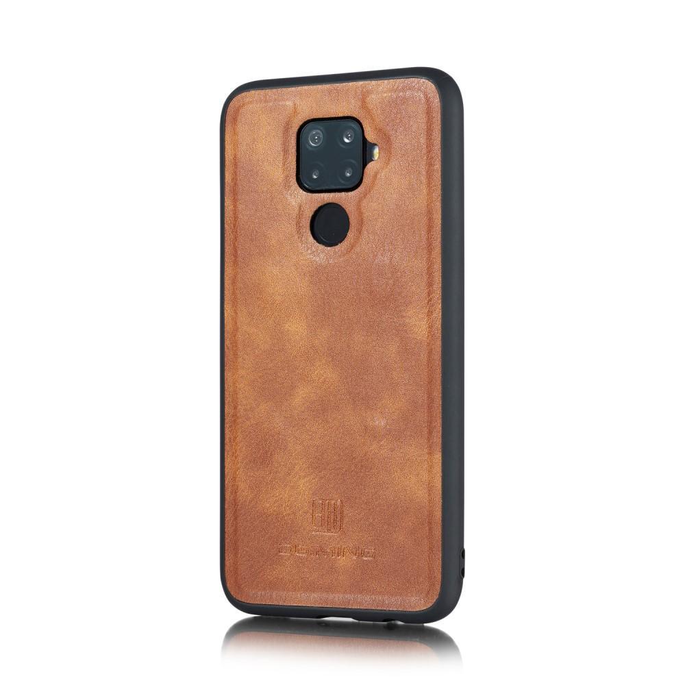 Magnet Wallet Huawei Mate 30 Lite Cognac