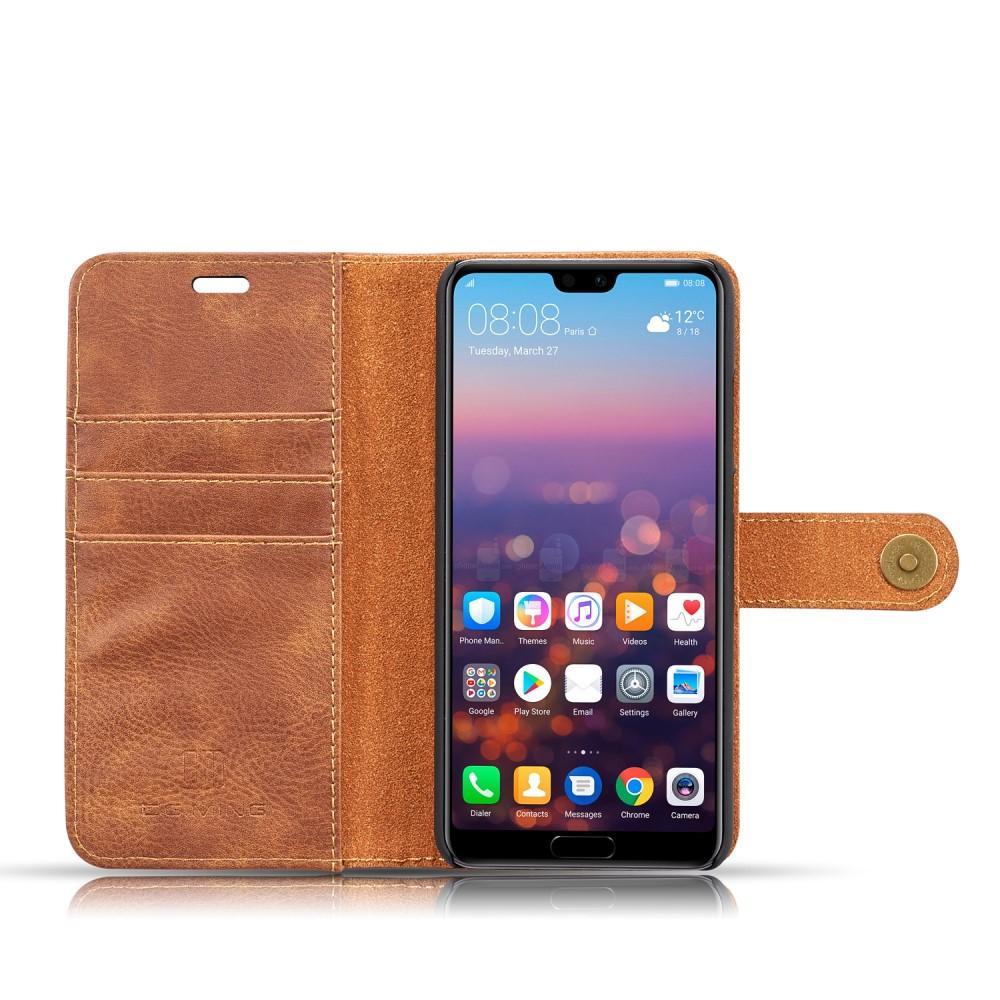 Magnet Wallet Huawei P20 Cognac