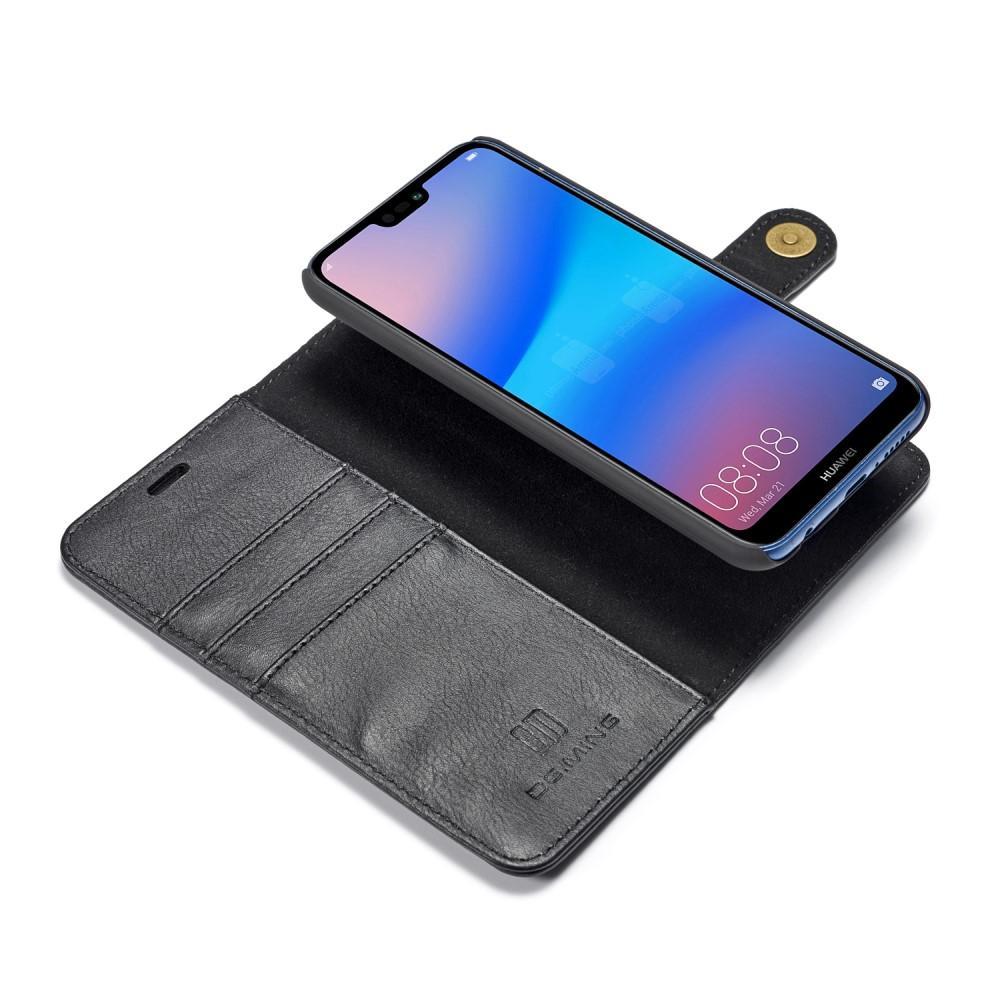 Magnet Wallet Huawei P20 Lite Black