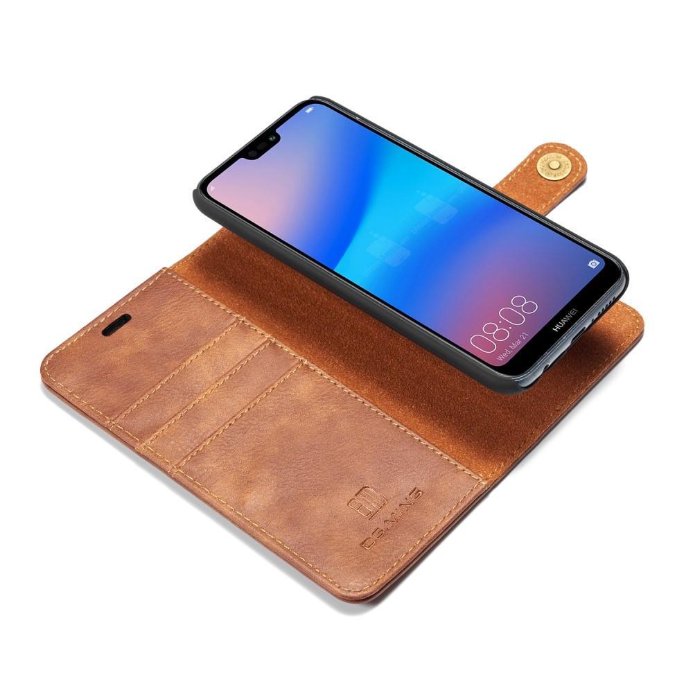 Magnet Wallet Huawei P20 Lite Cognac