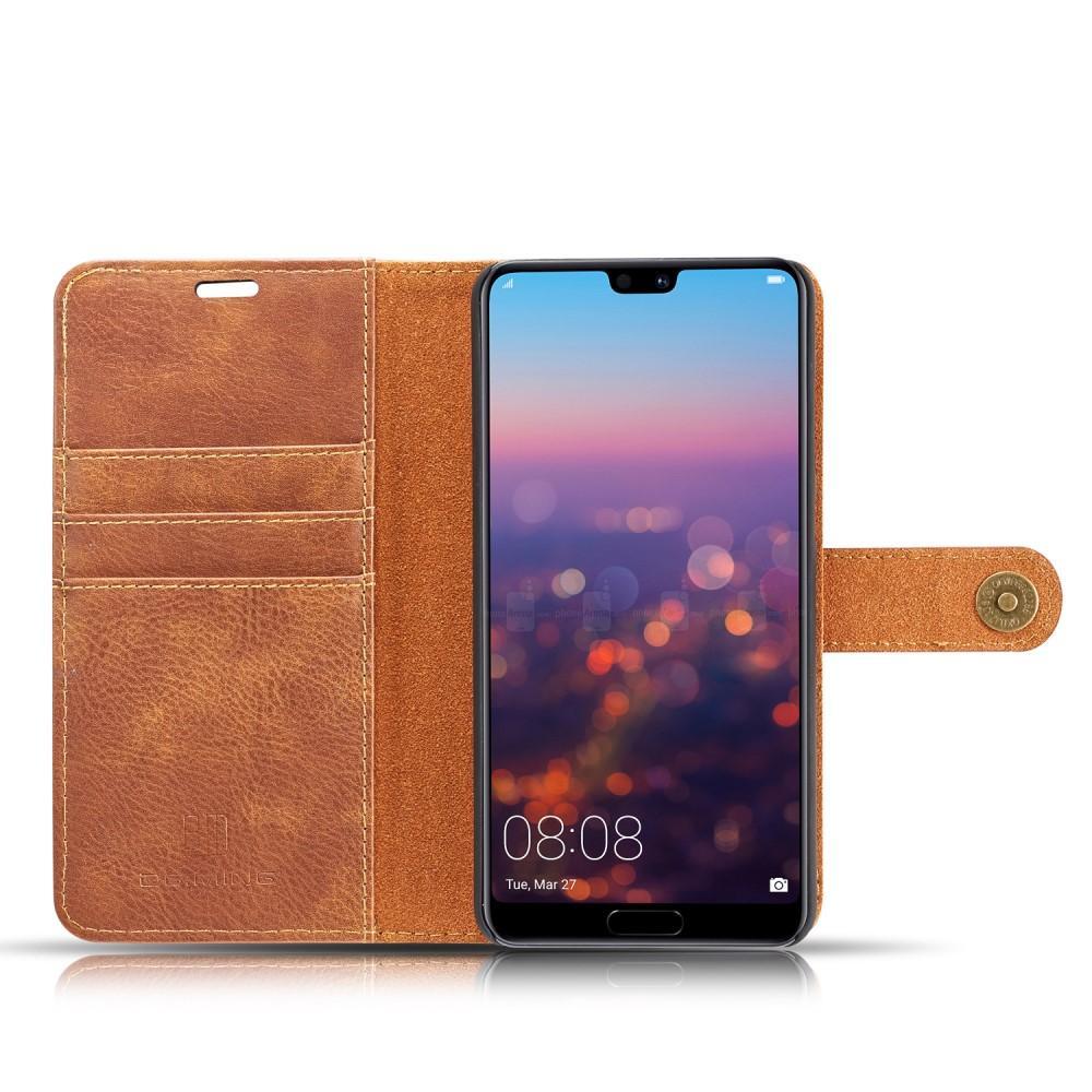 Magnet Wallet Huawei P20 Pro Cognac