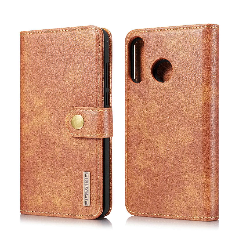 Magnet Wallet Huawei P30 Lite Cognac