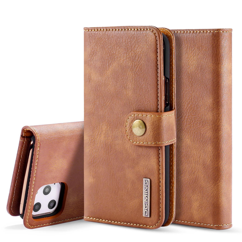 Magnet Wallet iPhone 11 Pro Max Cognac