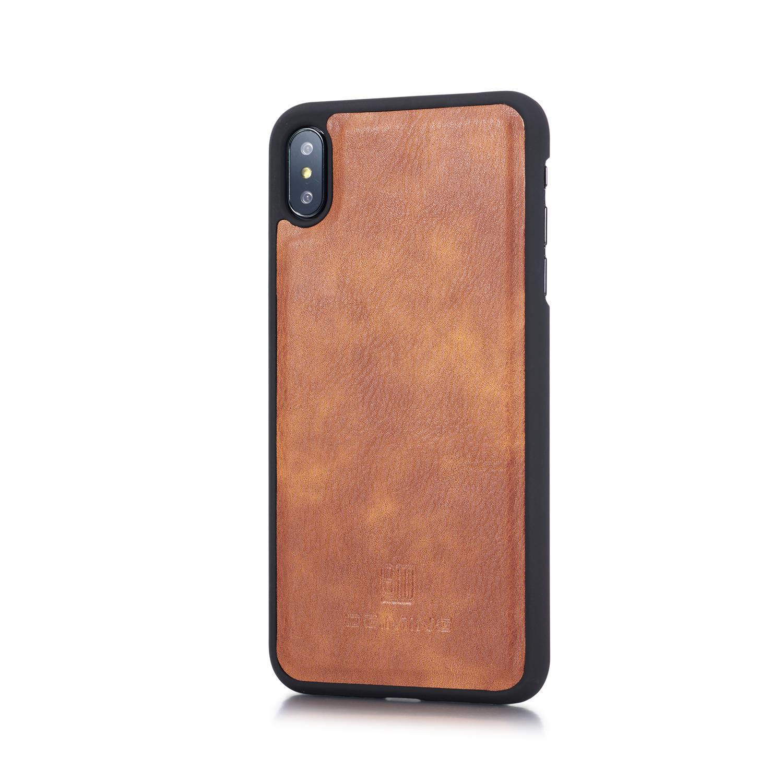 Magnet Wallet iPhone XS Max Cognac