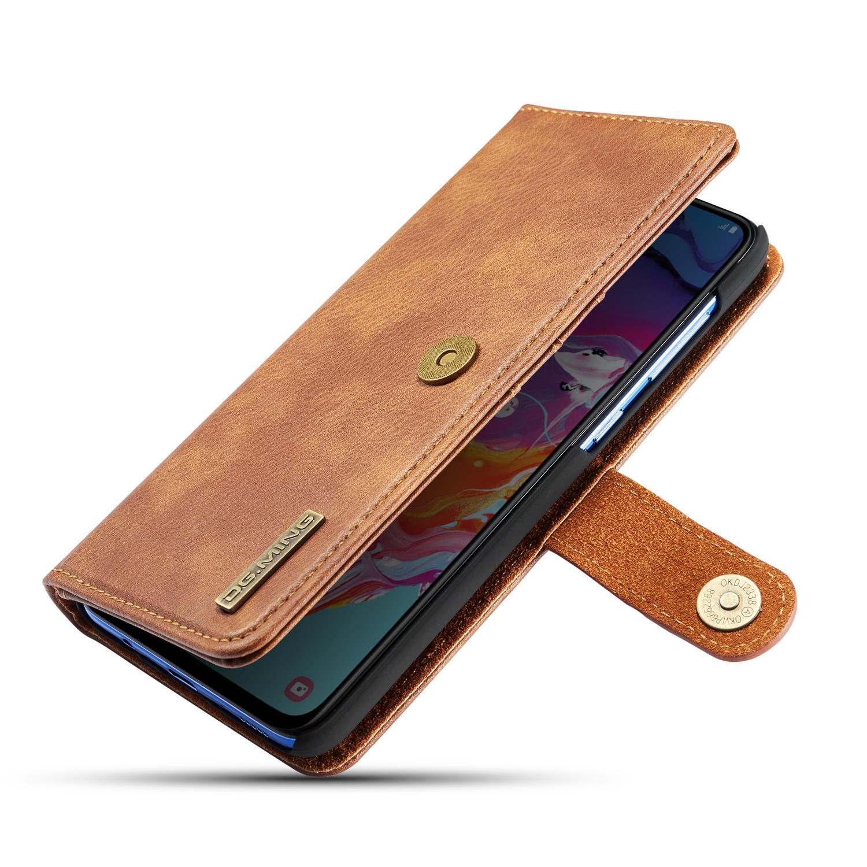 Magnet Wallet Samsung Galaxy A70 Cognac