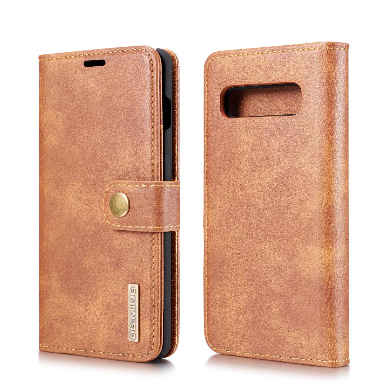 Magnet Wallet Samsung Galaxy S10 Plus Cognac