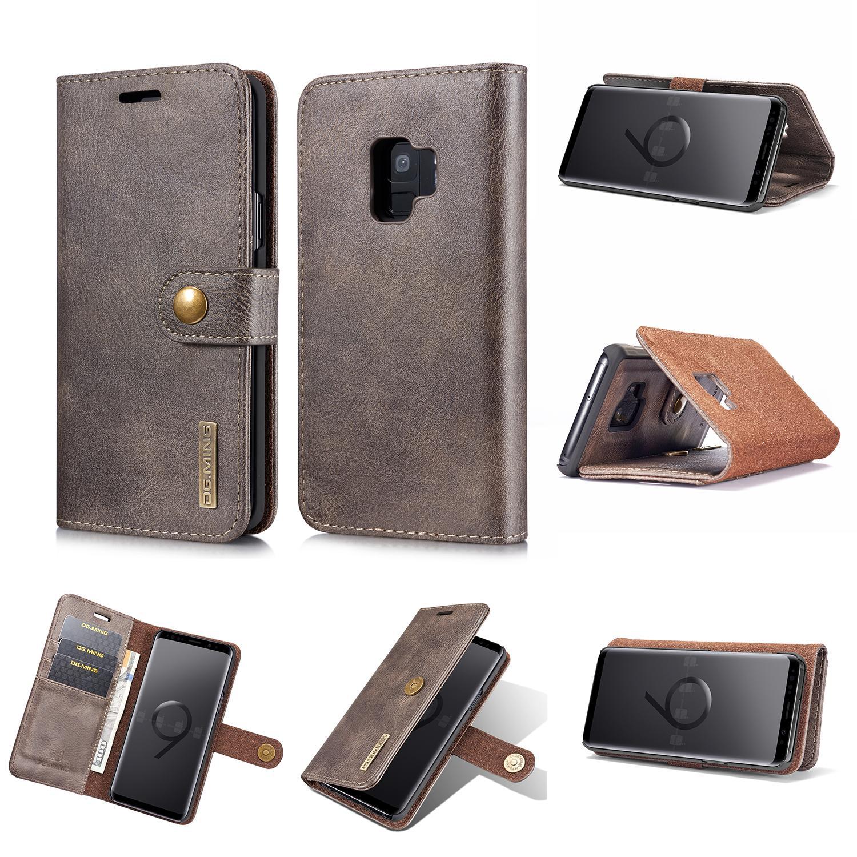Magnet Wallet Samsung Galaxy S9 Brown