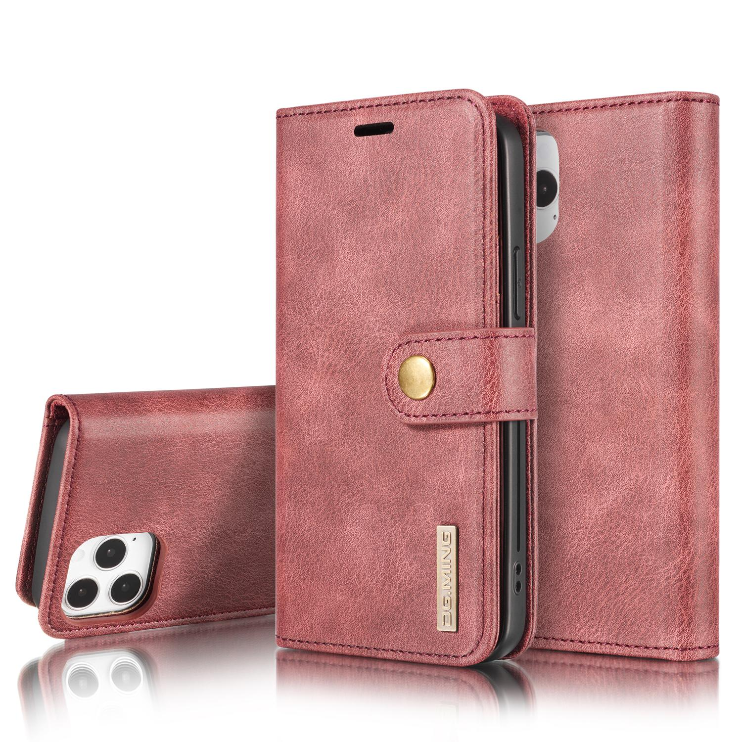 Magnet Wallet iPhone 12/12 Pro Red