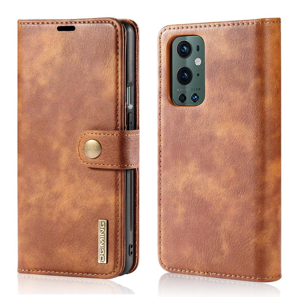 Magnet Wallet OnePlus 9 Pro Cognac