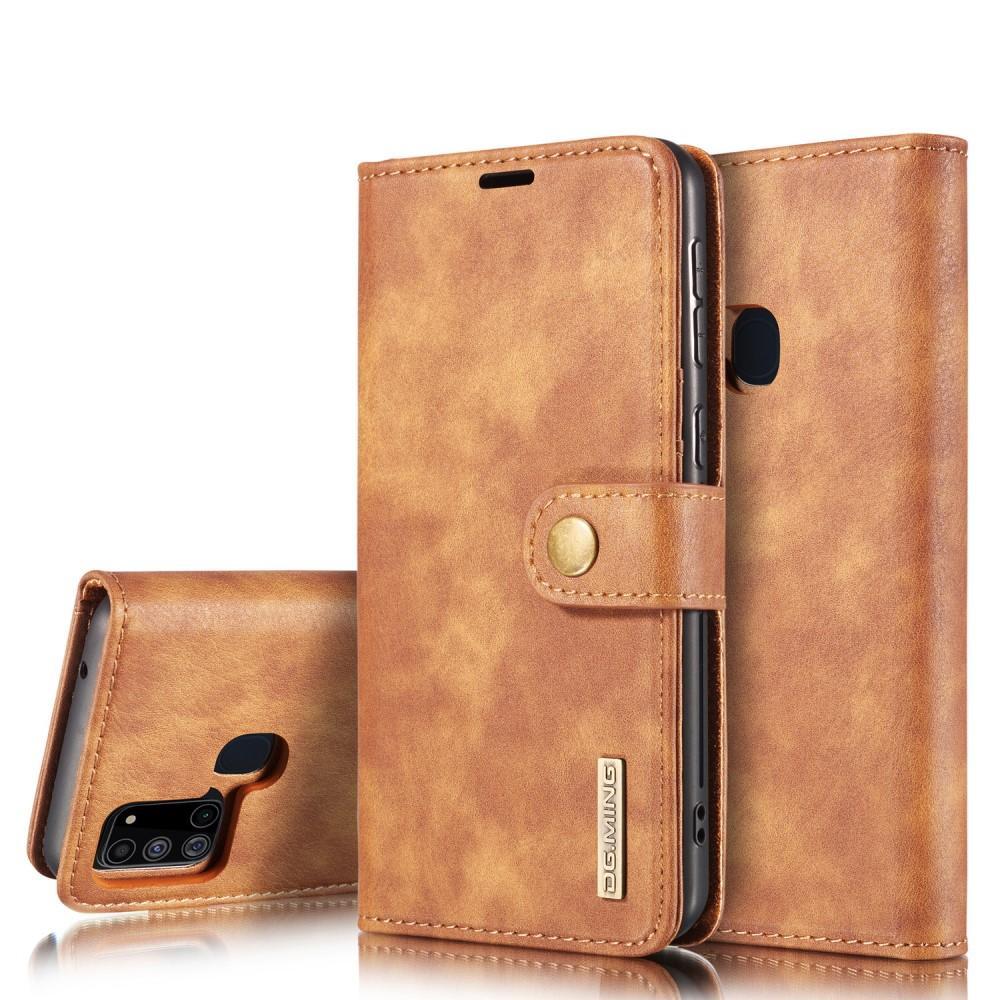 Magnet Wallet Samsung Galaxy A21s Cognac