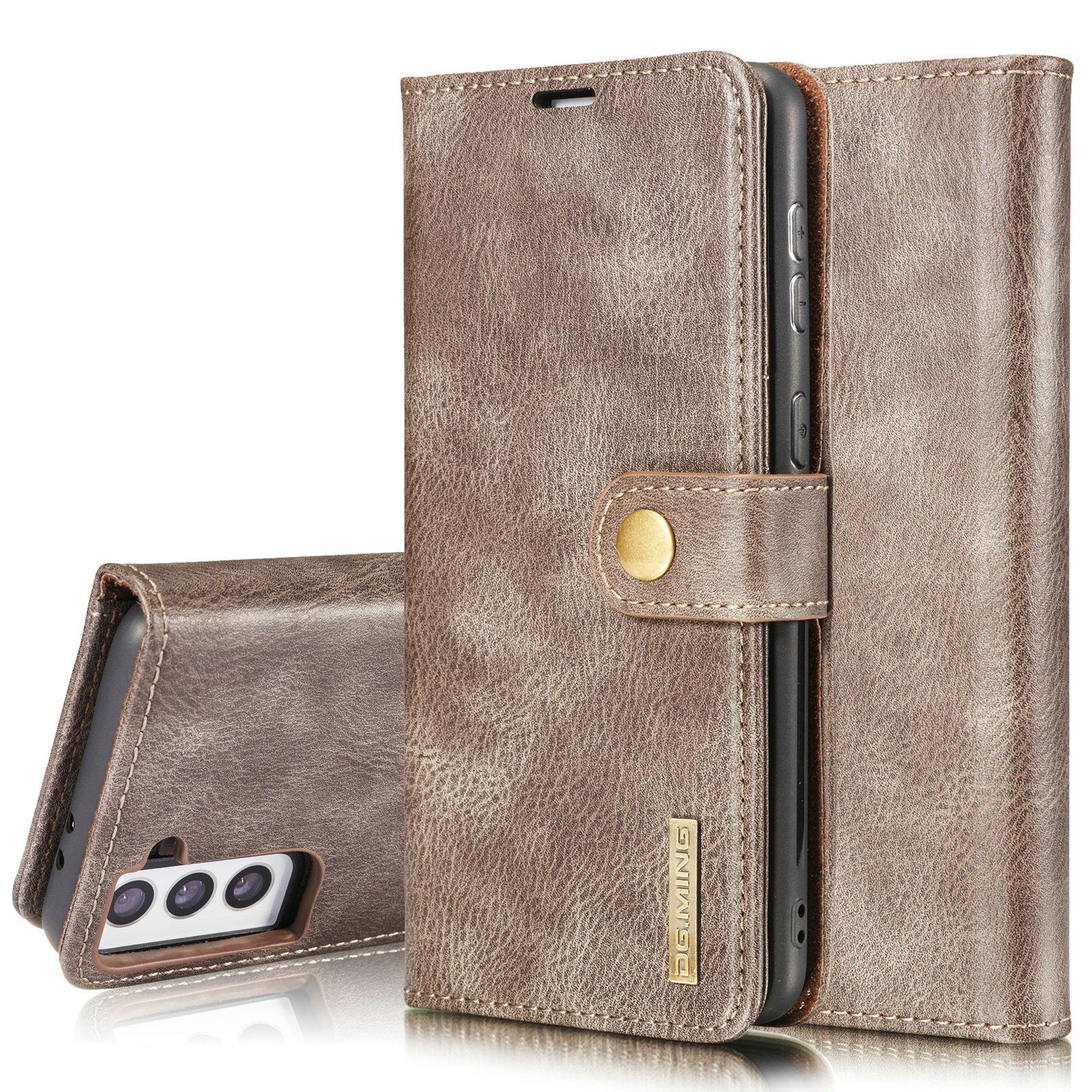 Magnet Wallet Samsung Galaxy S21 Brown