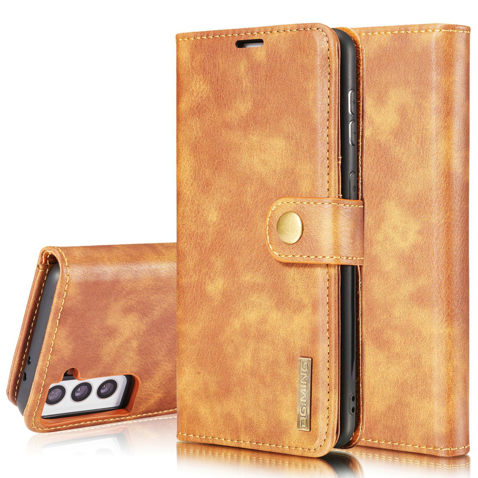 Magnet Wallet Samsung Galaxy S21 Cognac