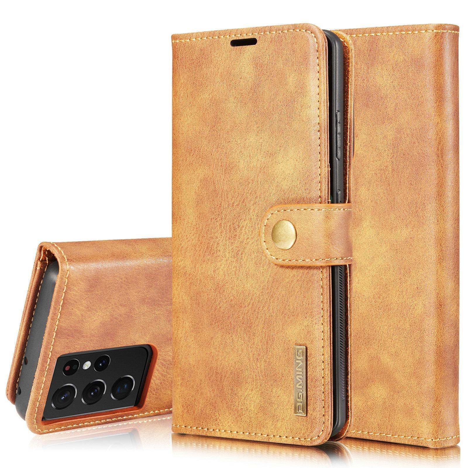 Magnet Wallet Samsung Galaxy S21 Ultra Cognac