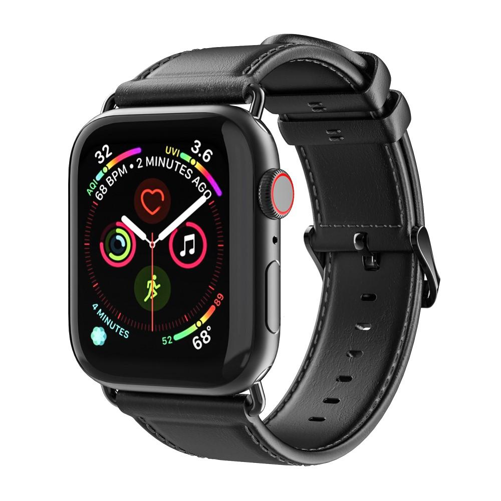 Leather Armband Apple Watch 38/40/41 mm Black