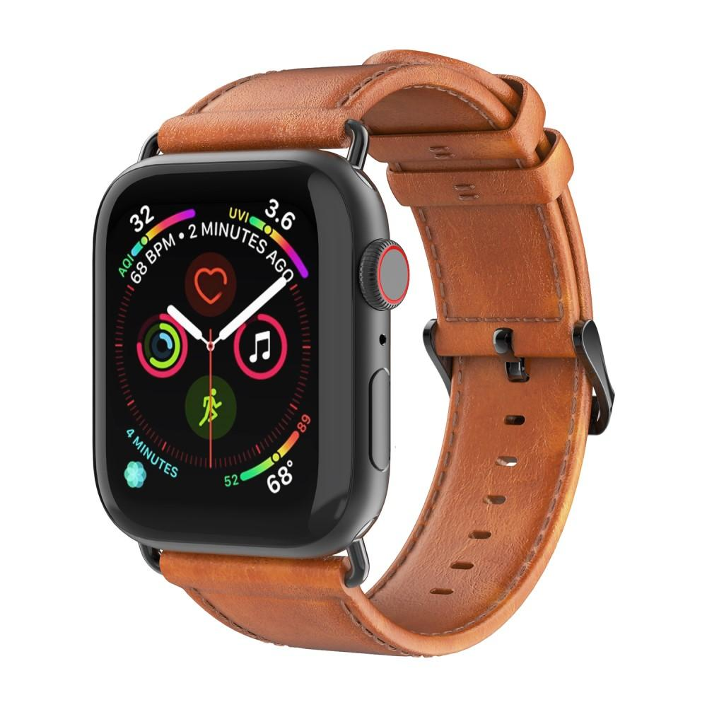 Leather Armband Apple Watch 42/44 mm Tan